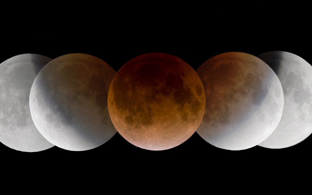 Arriva l'Eclissi Totale di Luna