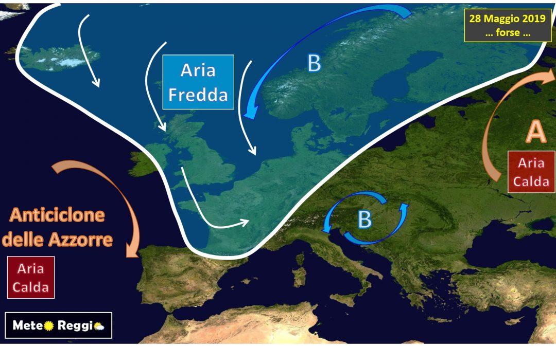 Possibile ritorno di altra aria instabile dal Nord