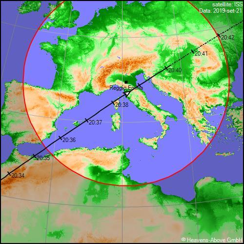 Torna la ISS nel cielo di Settembre