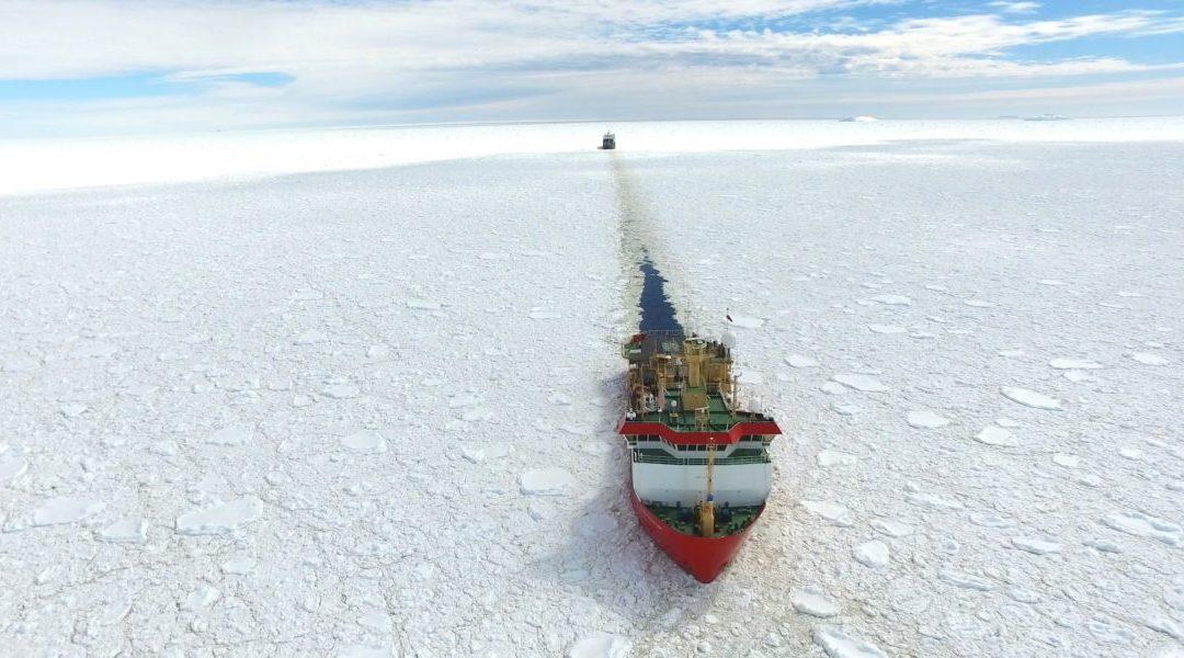La Laura Bassi salpa per l'Antartide