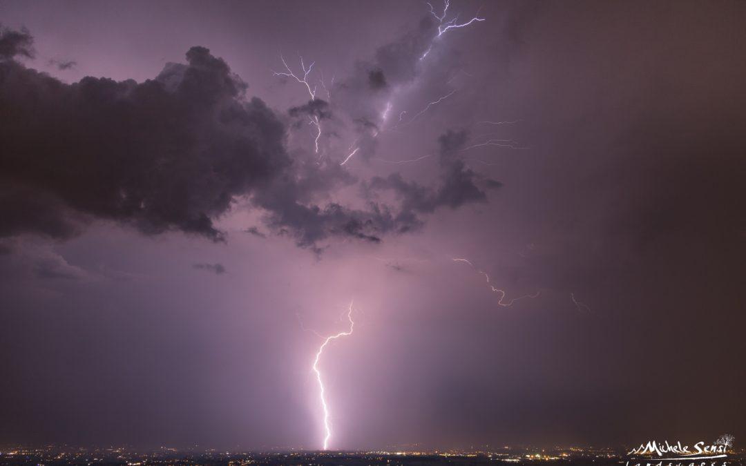 Tornano i temporali a Luglio