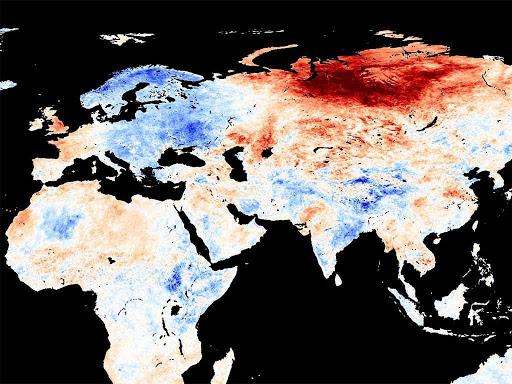 Non c'è pace per la Siberia, temperature record.
