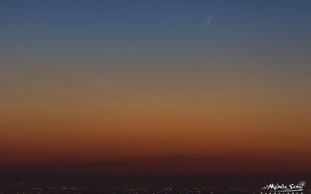 Arriva la Cometa Neowise C/2020 F3