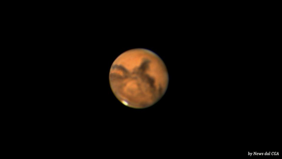 Marte in opposizione il 13 ottobre