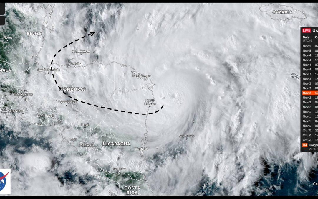 L'Uragano Eta devasta il Centro America